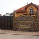 Откатные и распашные ворота (11)