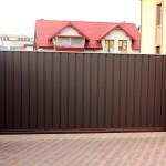 Откатные и распашные ворота (15)