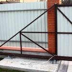 Откатные и распашные ворота (23)