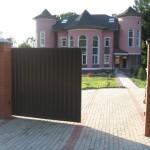 Откатные и распашные ворота (30)