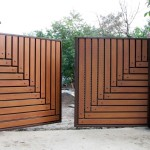 Откатные и распашные ворота (33)